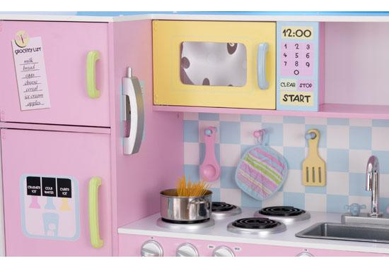 Kidkraft Large Pastel Kitchen 53181 Accessories Bedroom Choicis Uk Online Low Prices Fast Delivery